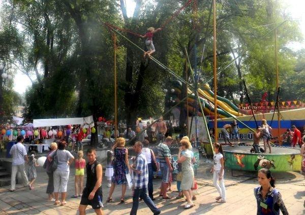 Как День Независимости по карману бьет, или Сколько стоит в Кривом Роге в парке погулять (ФОТО), фото-13