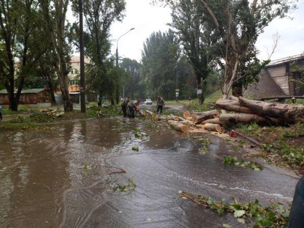 Из-за грозы в Запорожье без света осталось 500 домов (ФОТО), фото-1