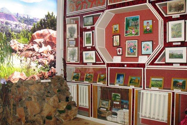 Выставка «Кольори моєї Батьківщини» горловской художницы Александры Бондаренко откроется ко Дню города, фото-1