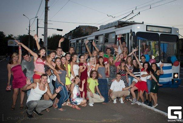 Salsa party в троллейбусе, фото-4