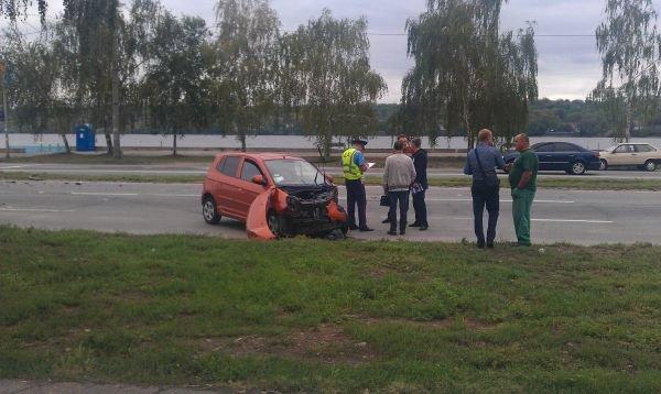 ФОТОФАКТ: На Набережной в Запорожье произошло ДТП, в ГАИ молчат, фото-1