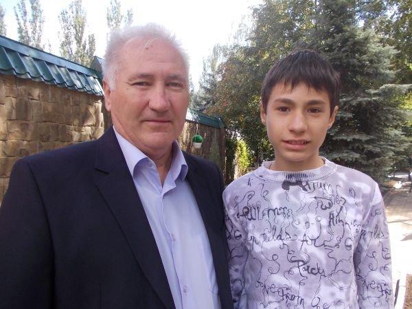 Мэр Артемовска Алексей Рева встретился со своими подопечными, фото-2