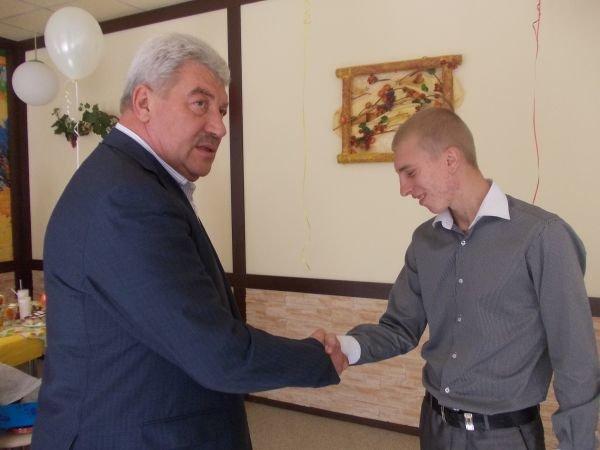 Мэр Артемовска Алексей Рева встретился со своими подопечными, фото-8