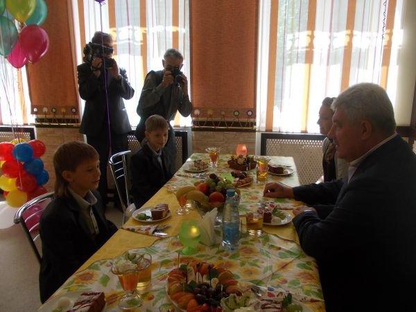 Мэр Артемовска Алексей Рева встретился со своими подопечными, фото-6