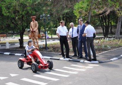 В Симферополе после ремонта открыли Городок безопасности дорожного движения (фото), фото-1