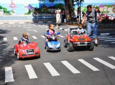 В Симферополе после ремонта открыли Городок безопасности дорожного движения (фото), фото-2