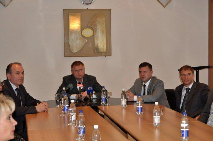 Народный депутат Украины Алексей Белый в канун 1-го сентября встретился с педагогами, фото-1