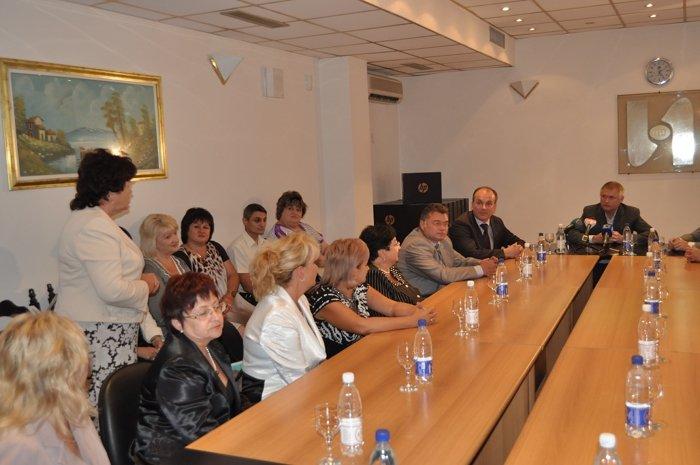 Народный депутат Украины Алексей Белый в канун 1-го сентября встретился с педагогами, фото-3