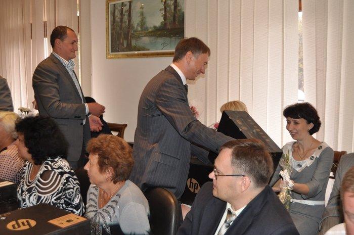 Народный депутат Украины Алексей Белый в канун 1-го сентября встретился с педагогами, фото-4