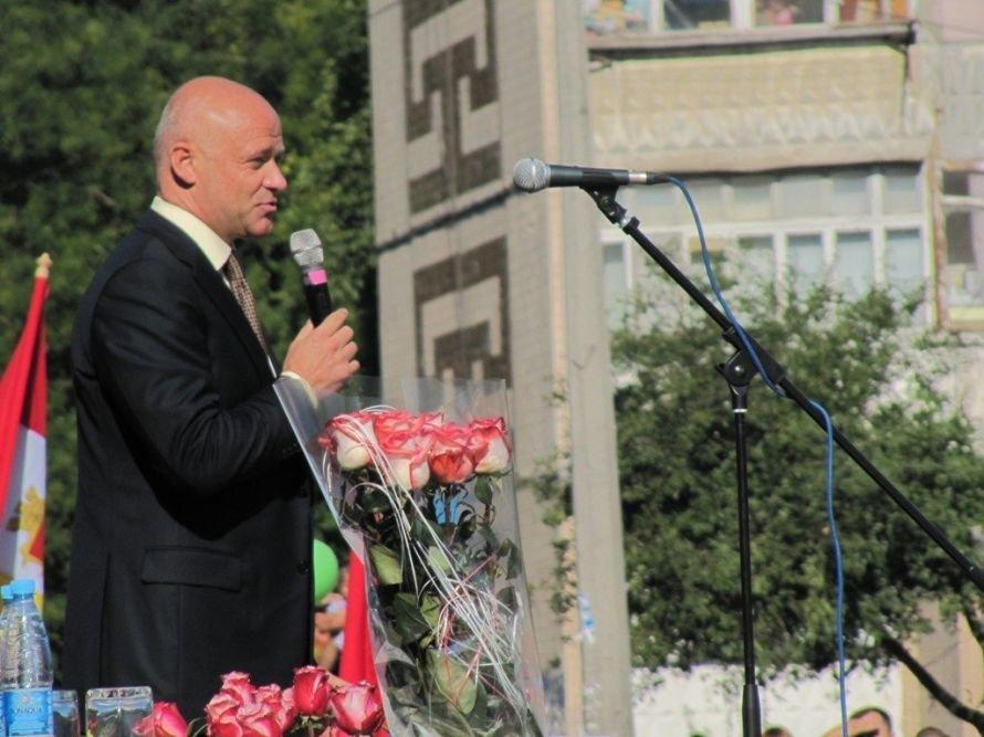 Предвыборное волшебство: первый звонок в одесской школе превратился в бенефис Труханова (Фото) (фото) - фото 5
