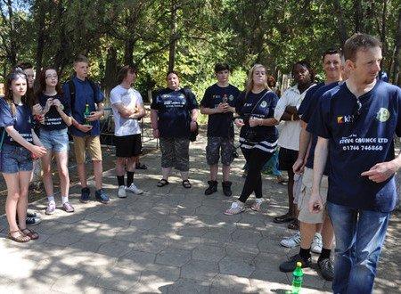 Мариупольский «Пилигрим» посетило 33 волонтера из Англии (ФОТО), фото-5