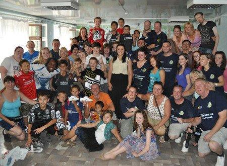 Мариупольский «Пилигрим» посетило 33 волонтера из Англии (ФОТО), фото-6
