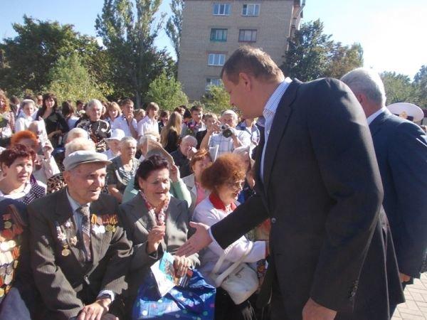 Артемовск встретил 69-ю годовщину освобождения от фашистской оккупации, фото-4