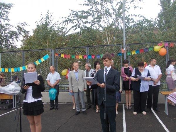 Артемовск: презентации гранта в УВК №11 не смог помешать даже дождь, фото-3