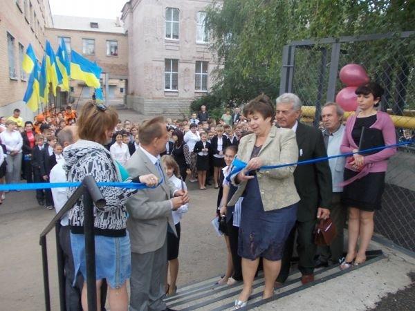 Артемовск: презентации гранта в УВК №11 не смог помешать даже дождь, фото-2
