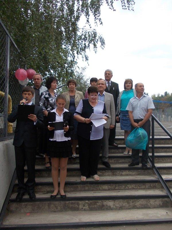Артемовск: презентации гранта в УВК №11 не смог помешать даже дождь, фото-1
