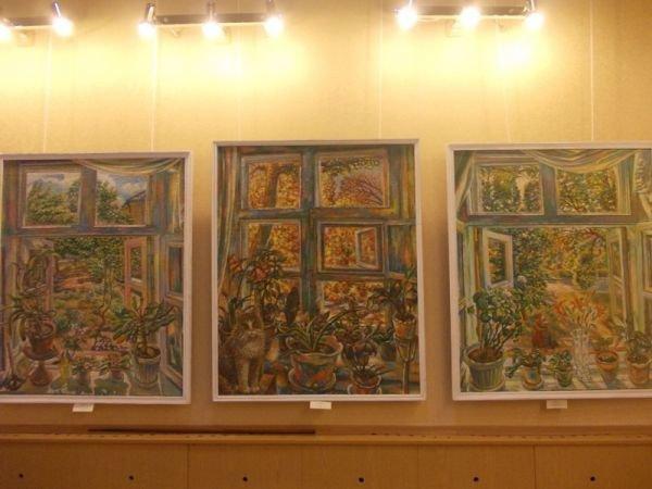 Ко Дню города в артемовском музее 18 художников выставляют свои работы, фото-9