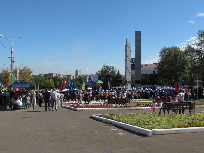 В Мариуполе отметили  69-ую годовщину  освобождения города от немецко-фашистских захватчиков   (ФОТО), фото-1