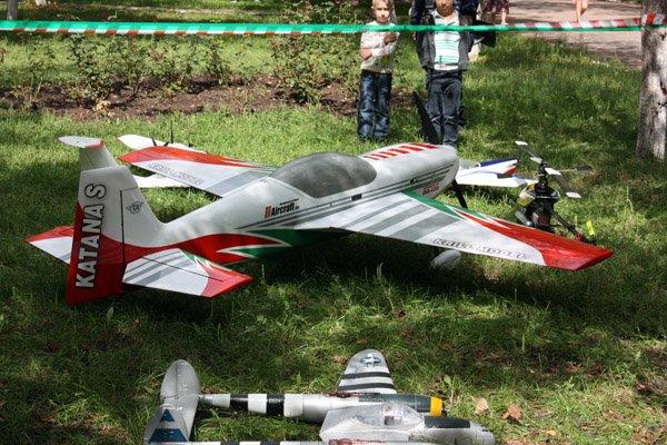В Горловке прошла выставка авиамоделей (ФОТО), фото-1