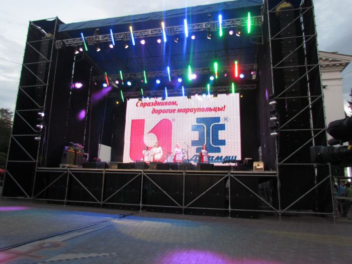 Навстречу выборам: в Мариуполе спел Расторгуев (ФОТО+ВИДЕО), фото-5