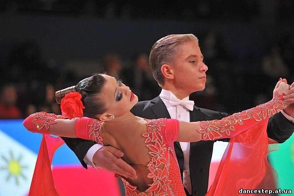 Толстенко Александр и Овчаренко Диана чемпионы европы 2012