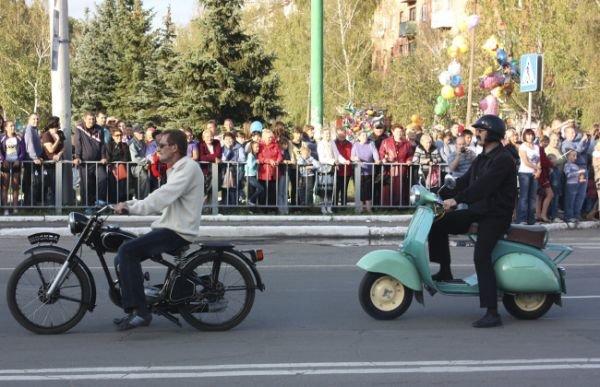 Для горловчан во второй раз провели парад ретро-автомобилей (ФОТО), фото-1