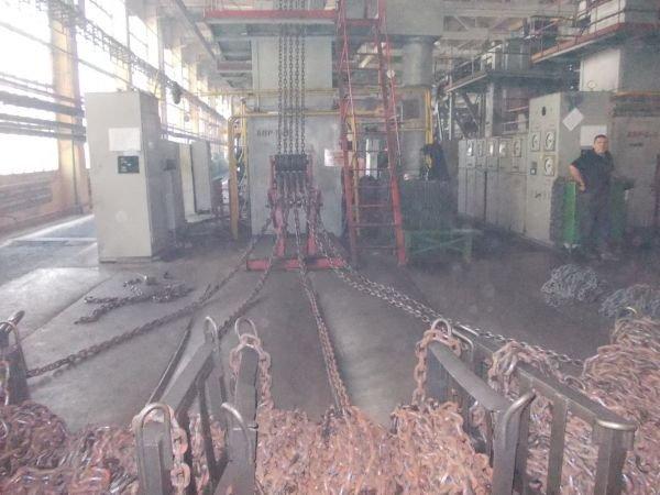 Самый крупный цех по производству цепей в Украине сегодня отмечает юбилей в Артемовске, фото-2