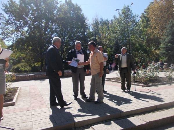Артемовск: нижний парк открывали девизами и речевками, фото-4