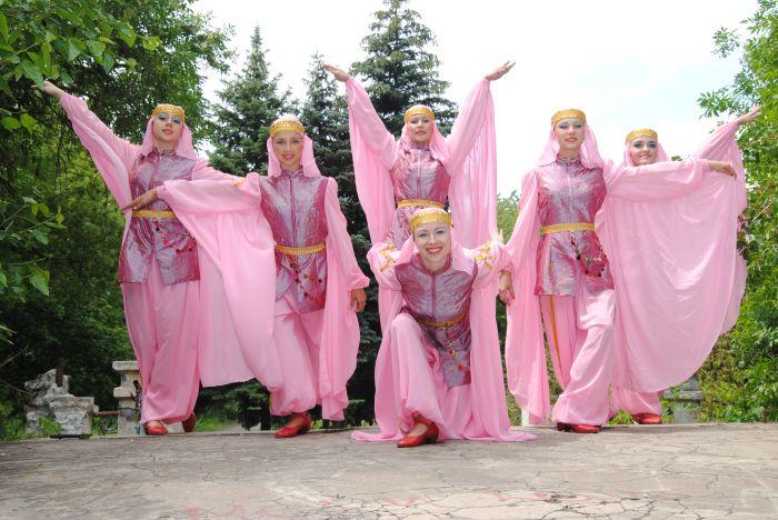 3. Старшая группа образцового хореографического ансамбля Барвинок.