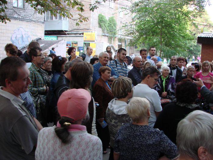 Кандидат в народные депутаты Украины А.П.Белый пошел в народ (ФОТО), фото-3