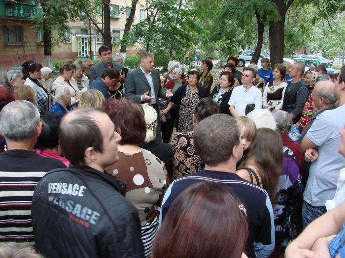 Кандидат в народные депутаты Украины А.П.Белый пошел в народ (ФОТО), фото-2