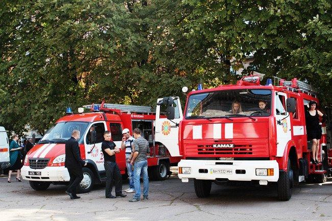 Мариупольские спасатели принимали поздравления, фото-1