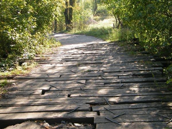 Мост в цивилизацию: жители посёлка станции «Трудовой» с ужасом ждут зимы., фото-1