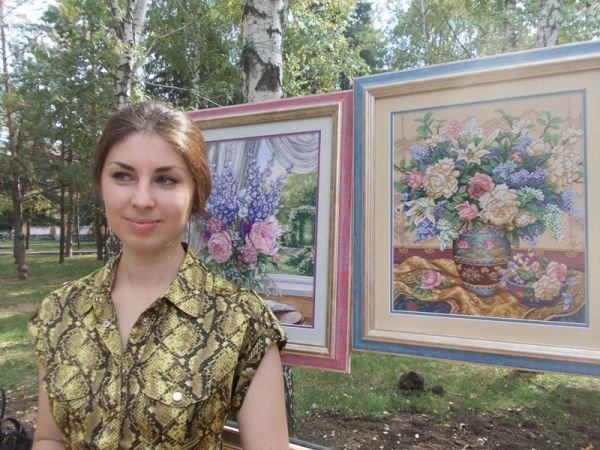 Товары для души и тела предлагали мастера народного творчества на фестивале в День города Артемовска, фото-4