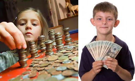 дети деньги