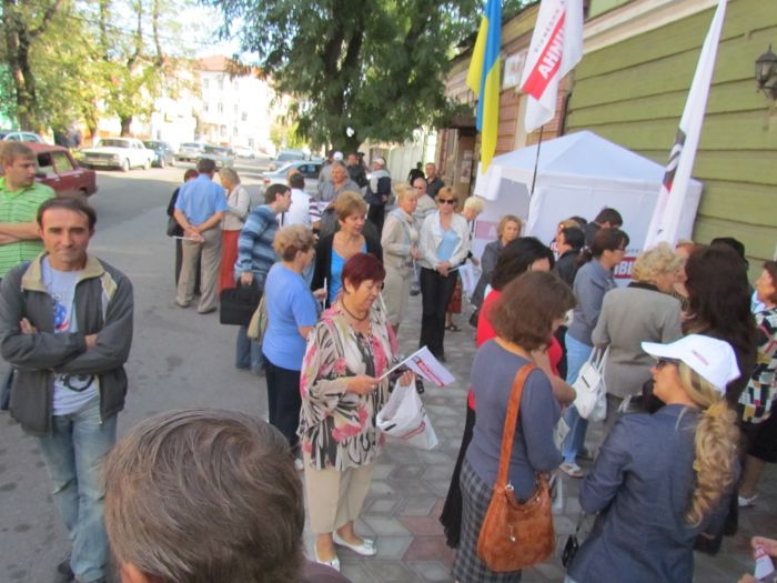 В Мариуполе оппозиционеры выбороли право участвовать в работе избирательных комиссий (ФОТО), фото-3