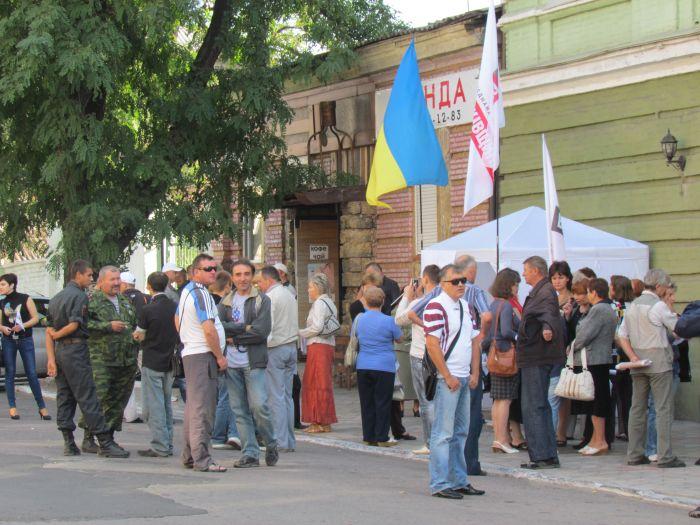 В Мариуполе оппозиционеры выбороли право участвовать в работе избирательных комиссий (ФОТО), фото-6