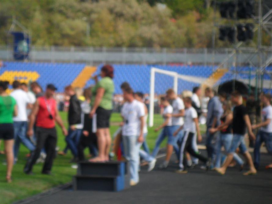 Николаевские студенты вместо занятий целый день танцевали, фото-5
