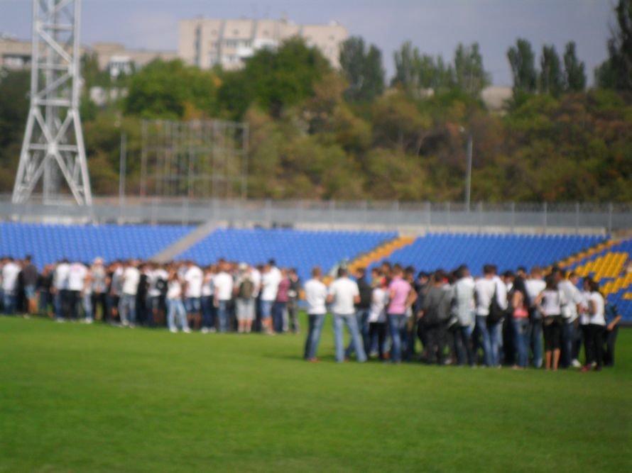 Николаевские студенты вместо занятий целый день танцевали, фото-6