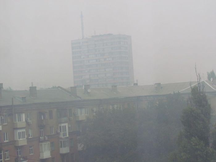 Мариуполь накрыло смогом и дождем, фото-2