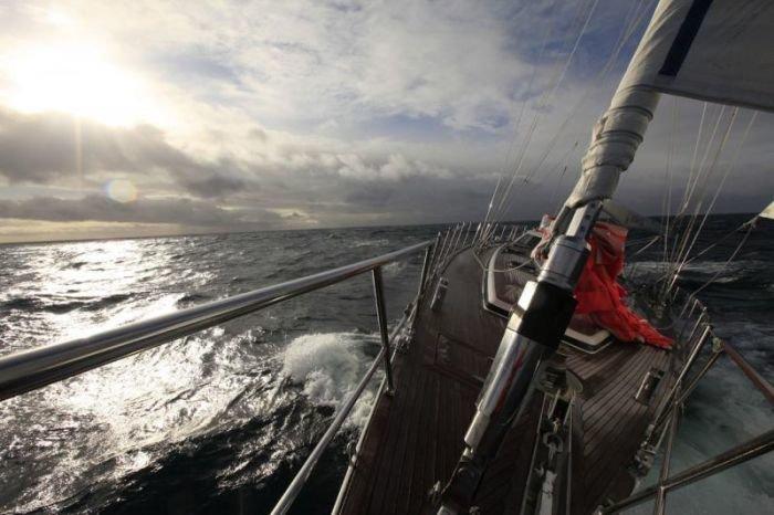 Штормовой ветер в Арктике не дает мариупольским яхтсменам завершить вторую кругосветку (ФОТО), фото-2