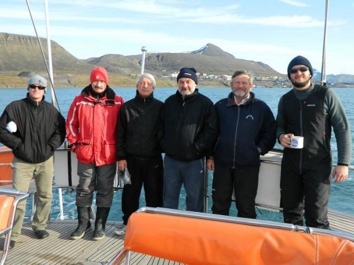 Штормовой ветер в Арктике не дает мариупольским яхтсменам завершить вторую кругосветку (ФОТО), фото-10