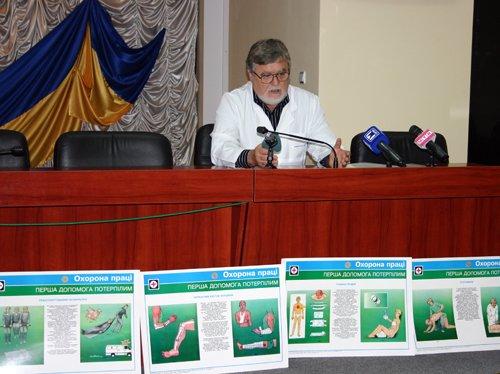 Мариупольских милиционеров учили лечить ушибы и переломы (ФОТО), фото-1