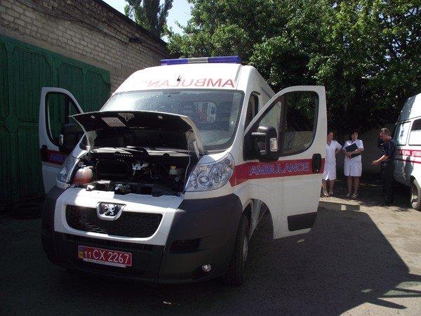 На днях в Горловку приедет губернатор и  подарит  станции скорой помощи 7 автомобилей., фото-1