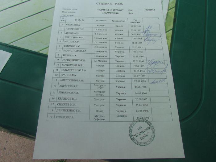 Экипаж судна «Вячеслав Ильин»  объявил бессрочную голодовку (ФОТО), фото-5