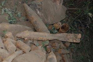 На Львівщині виявлено арсенал боєприпасів часів війни (ФОТО), фото-2