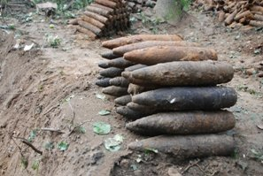 На Львівщині виявлено арсенал боєприпасів часів війни (ФОТО), фото-1