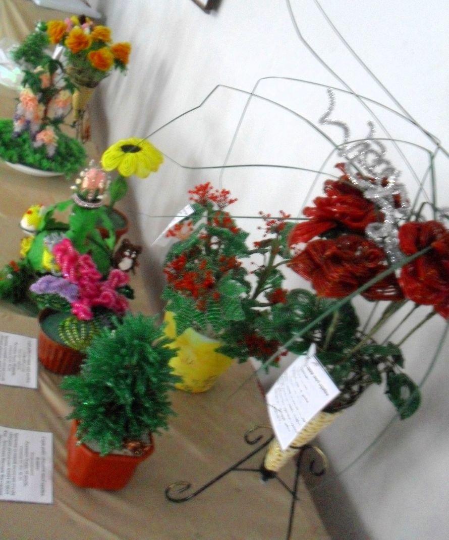 В Криворожском городском выставочном зале работает выставка работ в технике бисероплетения (ФОТО), фото-4