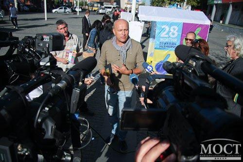 Вчера днепропетровцы пытались создать идеального кандидата в депутаты (ФОТО), фото-2