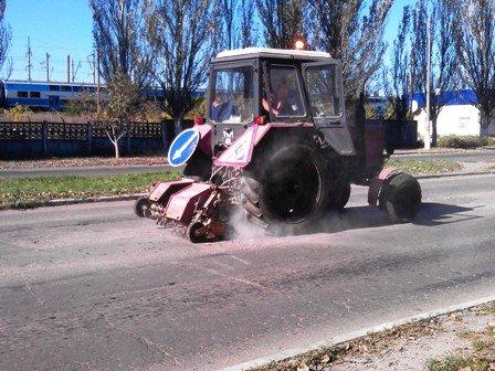 Облавтодор приступил к ремонту горловских дорог общего пользования (фото) - фото 1